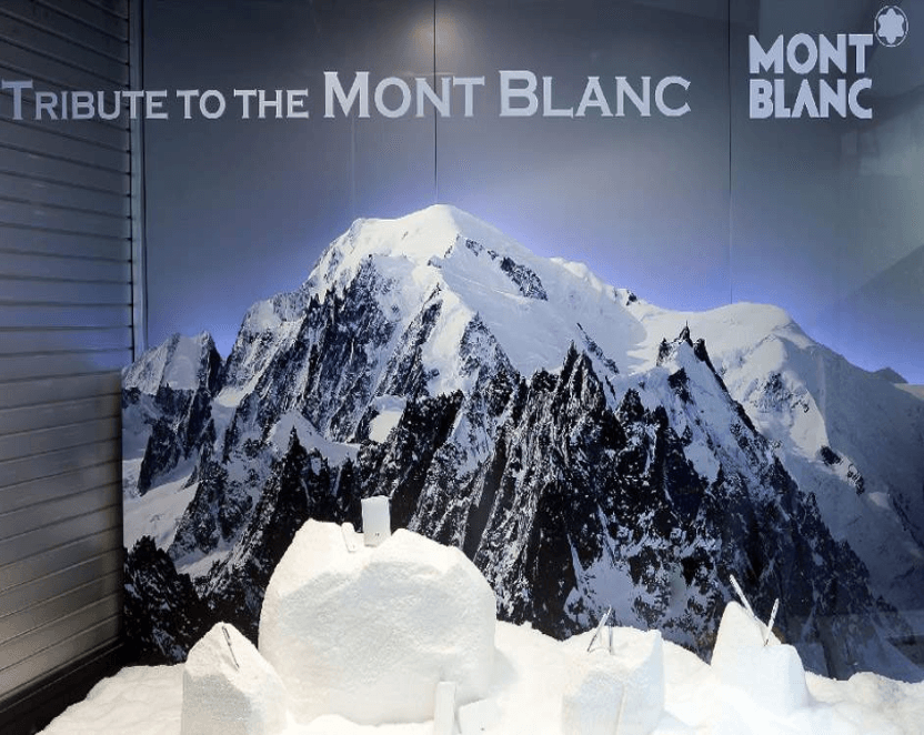 Show Windows Mont Blanc