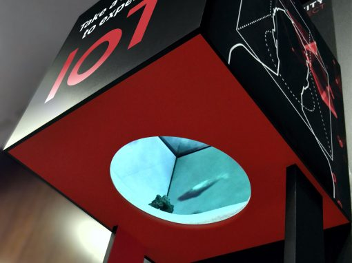 Inmersive Installation MWC 2017